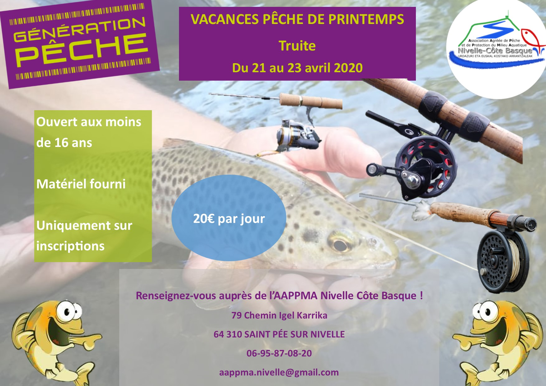 Stage Pêche Truite