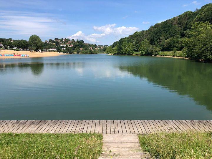 Pêche au lac de Saint-Pée sur Nivelle